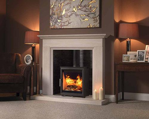 fireline woodtex inset stove